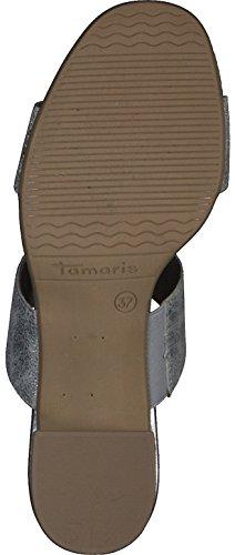 Tamaris 27231, Mules Femme Argent (Silver Metall.)