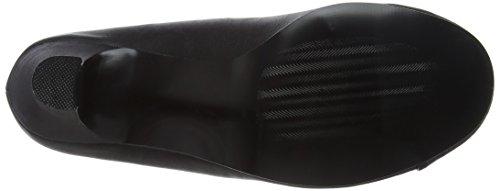 Pleaser Damen Jenna-01 Pumps Black (Blk Faux Leather)