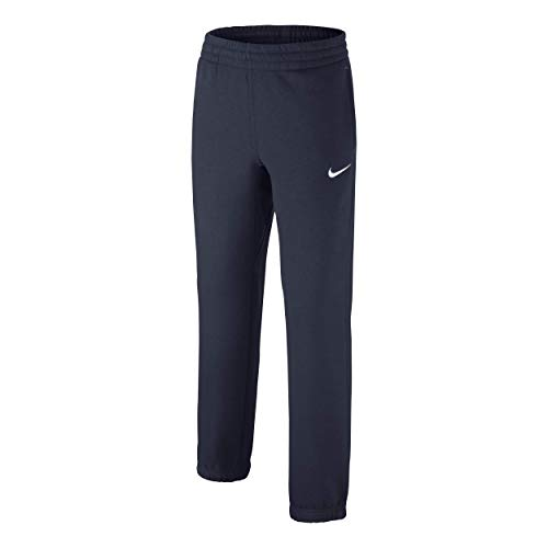Fleece-tasche Trainingshose (Nike Jungen Brushed-Fleece Cuffed Trainingshose, Obsidian White, XL)