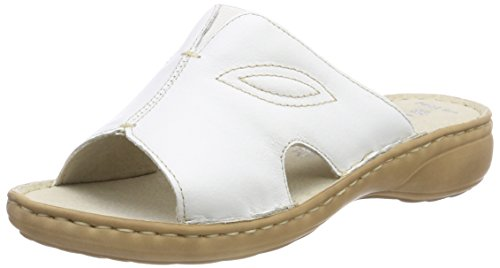 Marco Tozzi Premio Damen 27901 Pantoletten, Weiß (White), 41 EU