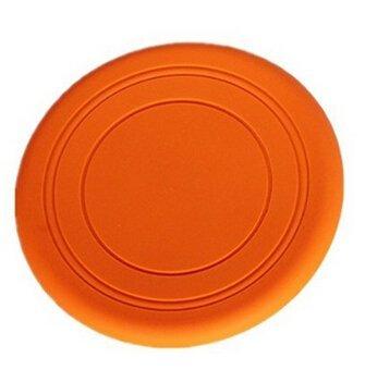 Edealing Hot Dog Tooth 18cm Pet Frisbee Flying Disc Jeu de formation extérieure Fetch Toy