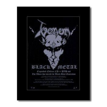 Black Metal, Mini - (VENOM - Black Metal Matted Mini Poster - 28.5x21cm)