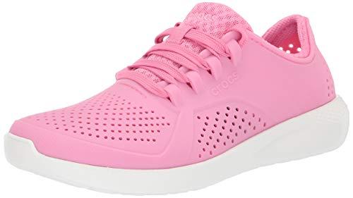 crocs - Frauen LiteRide Pacer, 36.5, Pink Lemonade/White - Frauen Crocs Pink