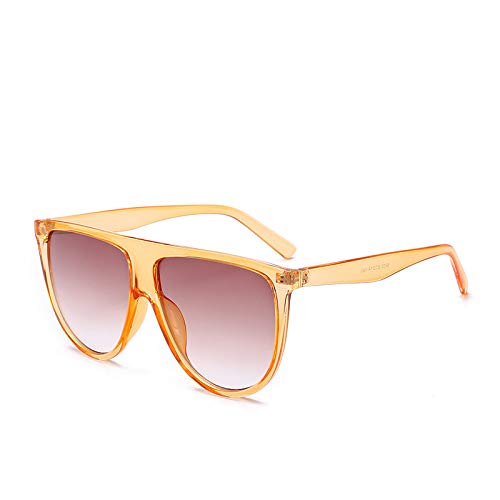 Brille Modetrend Big Box Sonnenbrille Europa und den Vereinigten Staaten große Marke mit dem gleichen Absatz Sonnenbrille lila Figur