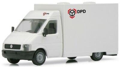 Preisvergleich Produktbild Herpa 044486 - VW LT 2 Paketverteilfahrzeug DPD