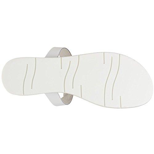 Sole Matilda Damen Sandalen Weiß Weiß