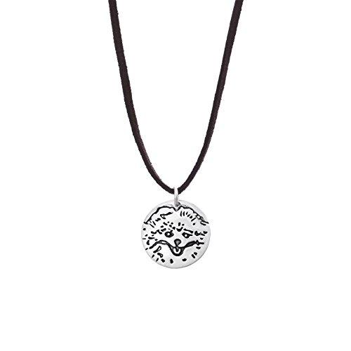 velvet-cord-choker-puppy-dog-pendant-necklace-for-men