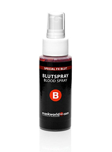 Spezial Effekt Blut Spray MakeUp Schminke Halloween Karneval Party