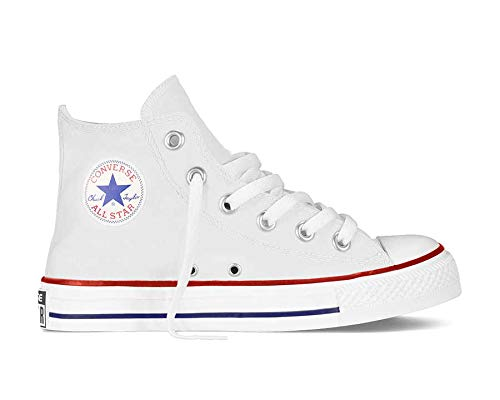 Converse Unisex-Kinder Chuck Taylor All Star 3J253C Hohe Sneaker, Weiß (White), 35 EU