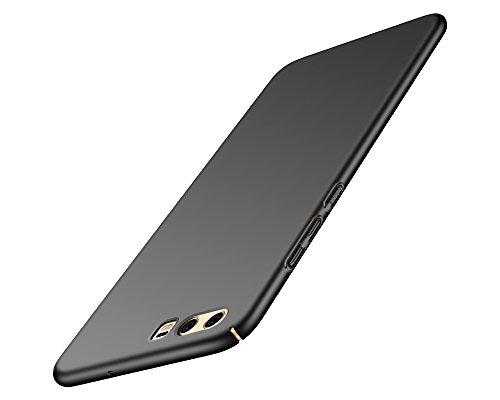 """KOLLOEY Huawei P10 Plus(5.5"""") Custodia,PC materiale liscio pittura di superficie e il bordo completa copertura della cassa del telefono di protezione per Huawei P10 Plus(5.5"""") (Nero)"""