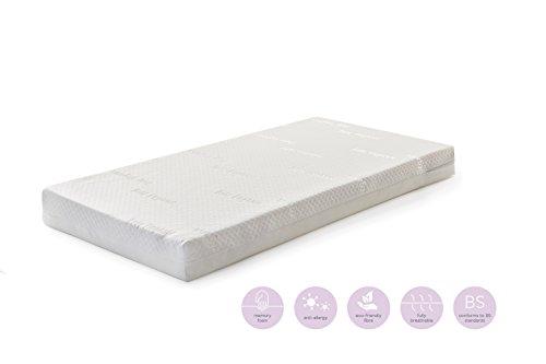 Baby Elegance Memory Foam Cot Bed Mattress (70 x 140 x 10cm)