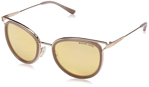 Michael Kors Damen HAVANA 12017J 52 Sonnenbrille, Rose Gold Tone/Milky Pink/Liquidrosegold,