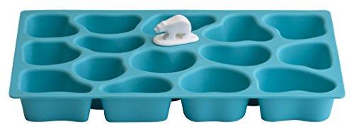 Unbekannt Qualy QL10080DO Eiswürfelform Polar Ice Tray, blau Blau Tray
