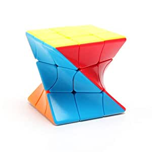 CocoRio High Stability Stickerless Speed Cube Puzzle Toy (The Twister 3x3)
