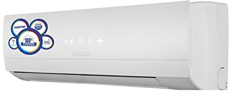 Mitashi 1 Ton Inverter Split AC (Copper, SACINv12K500, White)