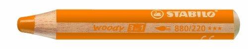 Pennarello multifunzione Woody 3 in 1, arancione