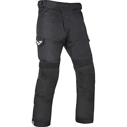 Oxford Quebec 1.0 Pantaloni da Moto - Tech Nero, M - Rego