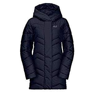 Jack Wolfskin Damen Mantel Kyoto Coat 1204941 M Midnight Blue
