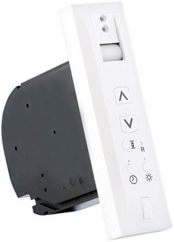 CASAcontrol Elektrischer Gurtwickler: Automatischer Gurtwickler mit Lichtsensor für Rollläden (Funk Gurtwickler für Rolladen)