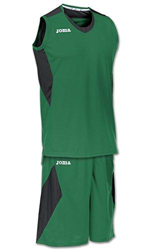 Joma Space - Basketball-Shirt und -Hose für Herren, Farbe weiß / marineblau.  Größe M GRÜN-SCHWARZ