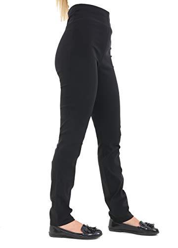 Miss Sexies NEUE MARKENWARE Mädchen schwarz schulhose erhältlich in 6 8 10 12 14 Größen shorts regular lang Skinny Fit Damen dehnbar Hose - JM Elastisch Hosen, 40