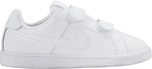 Nike Bambino Court Royale (PSV) Scarpe da Ginnastica Basse, Bianco (Blanco (Blanco (White / White))), 31 EU