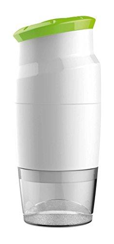 BIESSE CASA ABS/Edelstahl/San tritino 3-Blades mit Container, Grün