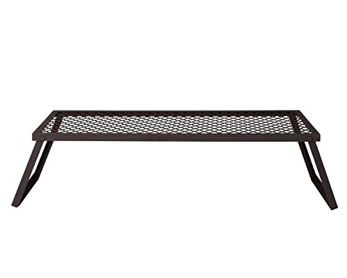 AmazonBasics - Robuster, klappbarer Camping-Grill, Extra-Groß