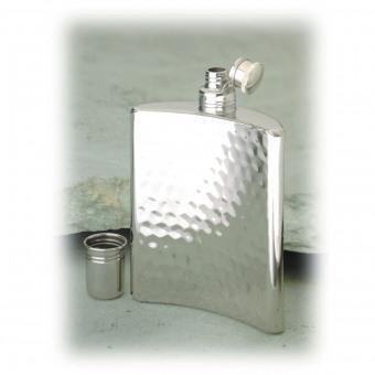 Relags hip flask 'Hammer blow design' 240 ml