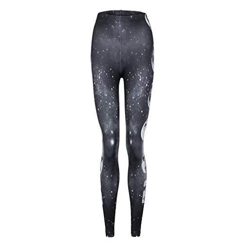 ❤️Damen Legging ABsoar Frauen Druck Yoga Gymnastik Laufen Fitness Workout Sport Gamaschen Hosen Fitness Sweatpants