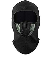 Dafunna balaclava men motorcycle winter cycling helmet bicycle balaclava windproof ski mask dustproof thermoactive hood breathable for skis (gray balaclava)