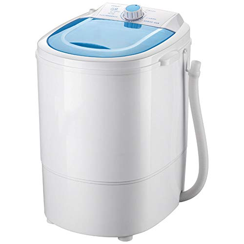 PIGE Miniatur-Mini-halbautomatische Waschmaschine, tragbares kompaktes Design mit Timing-Funktion Blu-ray antibakterielle 4,5 kg Waschkapazität Geeignet für Schlafzimmer Wohnzimmer Balkon Badezimmer