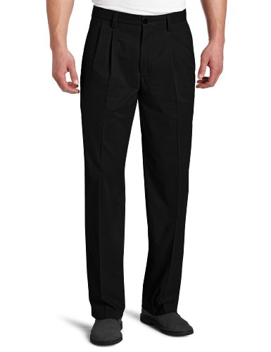 dockers-mens-easy-khaki-d3-classic-fit-pleated-pant-black-36x32