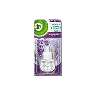 Air Wick Air Freshener, Electrical Plug In, Purple Lavender Meadow, Refill 17 ml, Pack of 6
