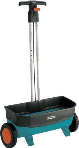 GARDENA Comfort Streuwagen 800, perfekt zum ausbringen von Streusalz, Dünger, Samen, Kalk und Splitt, 20l Fassungsvermögen, 53 cm Arbeitsbreite, hochwertiger Kunststoff (435-20)