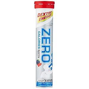 Elektrolyte Getränk Dextro Energy Zero Calories   12×20 Elektrolyt Tabletten   Berry Geschmack   Elektrolyt Pulver Alternative   Vegan & Zuckerfrei