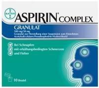 Bayer Vital ASPIRIN COMPLEX Granulat Btl. 10 Stück