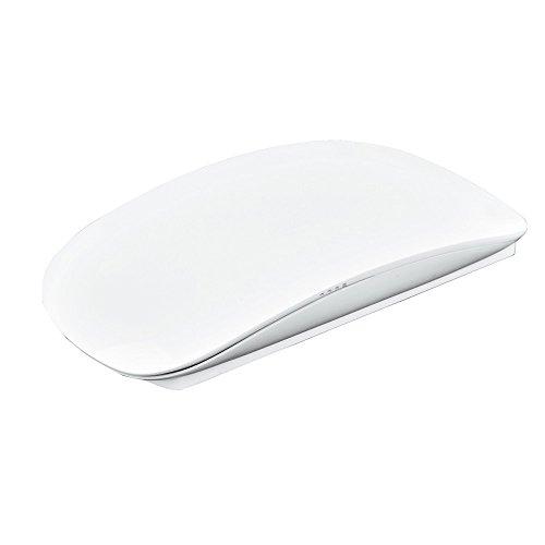Yowablo Kabellose optische USB Multi + Touch Scroll Maus für Laptop (Weiß)