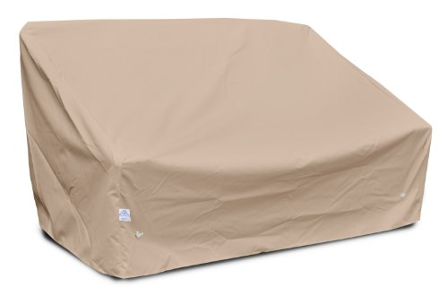 KoverRoos Weathermax 49550 Deep Highback Loveseat/Sofa Cover, 60-Inch Width by 35-Inch Diameter by 35-Inch Height, Toast