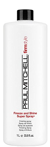 Paul Mitchell Firm Style Freeze and Shine Super Spray, 1er Pack (1 x 1000 ml) (Spray Refill)
