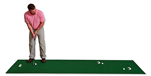 Putt-A-Bout Golf Putting Mat, 3 x 11-Feet, Green