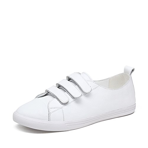 Chaussures de sport féminin/Coupe-bas chaussures/La version coréenne de la chaussure de Velcro fond plat/ Chaussures de Joker A