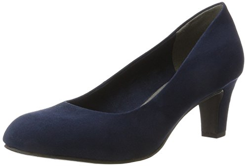 Tamaris Damen 22418 Pumps, Blau (Navy), 37 EU
