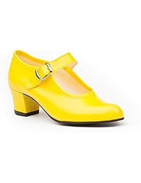 Zapatos Flamenca Para Niña y Mujer, Mod. 302, Calzado Made In Spain