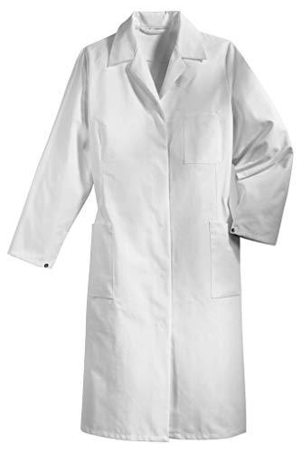Uvex Whitewear 239 Damen-Laborkittel - Arztkittel aus 100% Baumwolle - Gr 36 (Zahnarzt Kostüm Für Erwachsene)
