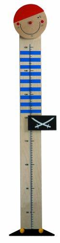 Niermann-Standby 947 - Messlatte Pirat - Lustige Messlatte für kleine Seeräuber. Messbereich bis 140 cm