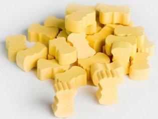 Getreide – Holz Spielsteine