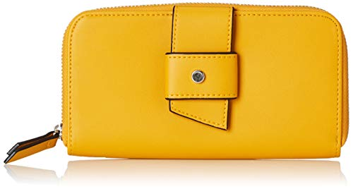 s.Oliver (Bags Damen 39.903.93.5604 Geldbörse, Gelb (Deep Yellow), 3x11x19 ()