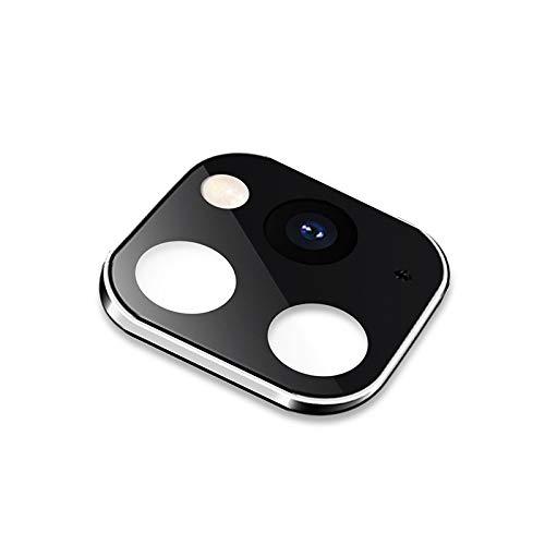webcam cover, ip 11 pro/ip 11 pro max metal, cubierta protectora de la lente de plexiglás, for iphone x/xs/xs max (10 pcs) (color : silver)
