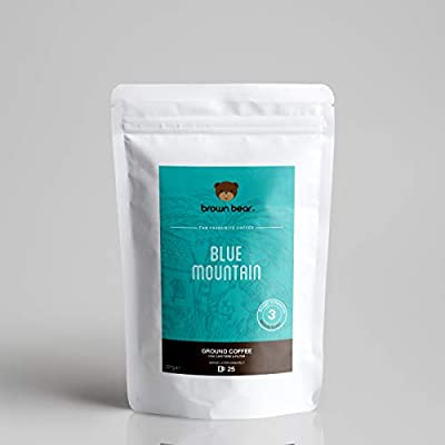 Brown Bear Blue Mountain Medium Roast Whole Bean Coffee